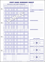 Basketball Chart Statistics Basketball Stat Sheet Free Download