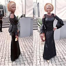 Asoebi Styles Black Is Always A Good Idea For A Wedding Guest