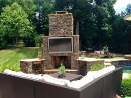 simple outdoor fireplace designs review