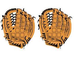 Baseball Glove Chart Sticker Chart Baseball Glove