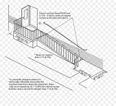 mississauga building wheelchair ramp architectural engineering diagram stone guardrail