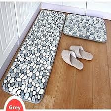 bathroom runner rugs creative of memory foam bath rug set 2 piece grey stone rug bathroom bathroom runner rugs