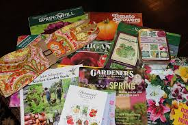 sweet dreams of seeds to come from gardening catalogs
