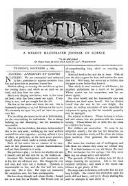 nature tobler essay the first issue of nature in which the essay is incorrectly attributed to goethe