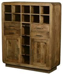 modern wine rack furniture. modern rustic solid wood glass holder wine rack home bar unit rusticwine and furniture 0