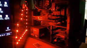 Red Pc Case Lighting Gaming Pc Case With Custom Remote Led Lighting Part 1 Rgb Led Mod