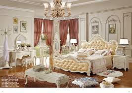 european royal style solid wood hand carved bedroom set white ...