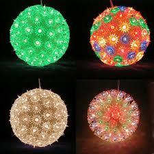 outdoor lighting balls. Plain Outdoor Outdoor Christmas Ball Lights Home Design And Decorating  To Lighting Balls S