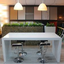 Narrow bar table Behind Couch Solid Surface White Long Narrow Bar Table Solid Surface White Long Narrow Bar Table