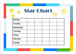 star charts for kids star chart for kids template images template design ideas