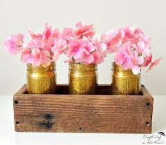 diy glitter glass jars craftingintherain com
