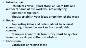 Literary Analysis Essay Suggestions From The Experts