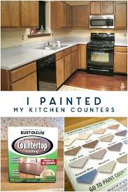 i painted my kitchen counters painting formica countertops with chalk paint