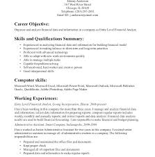 career objective examples for internships accounting objectives for resumes finance internship objective