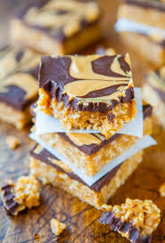 chewy peanut butter bars. Contemporary Bars Chewy Peanut Butter And Chocolate Cereal Bars Vegan Glutenfree  Recipe For B