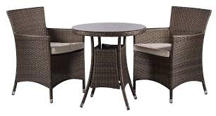 creative table amp chair company of savannah rattan 2 seat round dining table