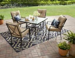 clearance patio dining table set