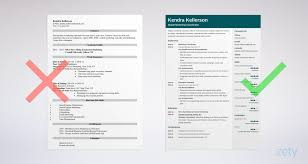 Example Of Marketing Resumes Digital Marketing Resume Sample Writing Guide 20 Examples