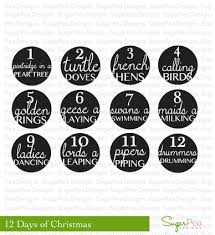 12 Days of ChristmasSugarPea Designs | SugarPea Designs