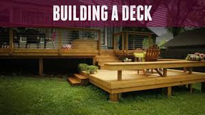 How to Build a Deck DIY