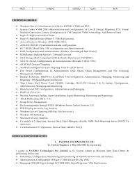 Systems Admin Resumes Systems Administrator Resume