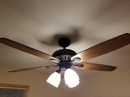 successful hampton bay ceiling fan