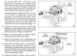 Tecumseh model OV358EA Spec 206940G 13.5 HP engine. As load is ...