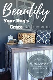 room manchester menu design mdog: diy dog crate hack with free plans by http snazzylittlethings
