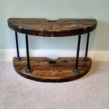 ideas cable spools wood spool hourglass stands