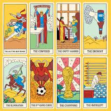 Bud Light Cards Bud Light Tarot Cards Illustration Illustrator Bright