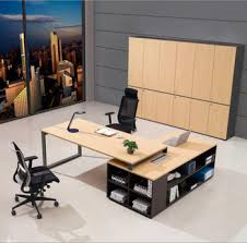 Round Luxury Wooden Boss Director Office Executive Table Office Desk