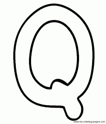 Small Picture Image Gallery of Capital Letter Q