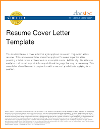 Resume Cover Letter Format Examples Bio Letter Format