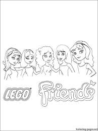 Free Coloring Pages Of Lego Friends Horse Lego Friends Printable