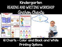 Reading And Writing Workshop Anchor Charts Kindergarten