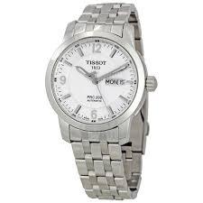 tissot prc 200 men s watch automatic bracelet silver dial t014 tissot prc 200 men s watch automatic bracelet silver dial t014 430 11 037 00