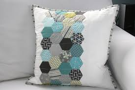 FITF: I made pillows… | Film in the Fridge & I quilted it with just a few simple lines running horizontally across the  pillow and finished it with a little striped binding. Adamdwight.com