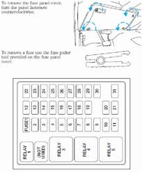 where is the cigarette lighter fuse for 2005 ford f150 super fixya 2004 F150 Fuse Box what fuse number is it for the cigarette lighter for a 2004 f 150 2004 f150 fuse box diagram