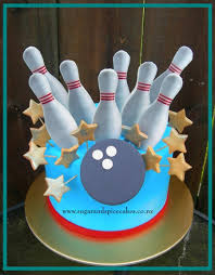 Bowling Pin Cake Decorations Strike 100 Pin Bowling Cake CakeCentral 43