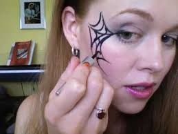 spiderweb makeup