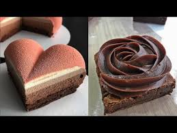 Most Satisfying Chocolate Cakes Video Ever Amazing Chocolate Cakes