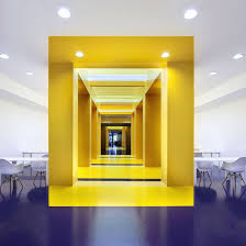 colors for office space. Simple For Malka Architecture Defines Parisian Office Space With Bold Colors And Colors For Office Space O