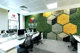 office feature wall. Office Accent Wall Charming Green A Moss Decoration Wood Home Ide . Feature