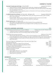 Resume Cv Examples Templates Template 02 Jobsxs Com Esthetician