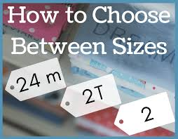The Difference Between Sizes 24 Month 2t 2 Magicalmamablog
