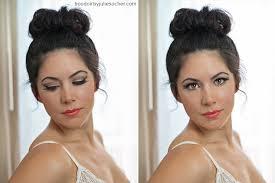 makeup by bobbypins blush boudoir model