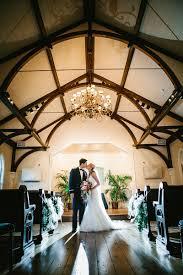 bride and groom after wedding ceremony in tybee island wedding chapel