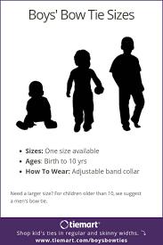 Uniform Advantage Size Chart Boys Tie Sizes And Lengths Size Chart Shop At Tiemart