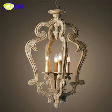 wood candle chandelier country wooden chandeliers hanging antique vintage palace club room handmade wood carved candle