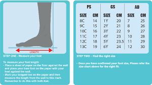 Air Jordan Size 6y Jordan Size Chart Womens Cumberland